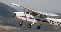Plane piloting lessons in Spain, Granada airport, gift vouchers