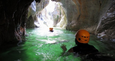 Canyoning adventure in  Marbella