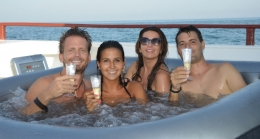 Jacuzzi Boat Party